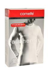 Cornette Pánský nátělník Cornette Authentic Thermo Plus 214 4XL-5XL černá 4XL