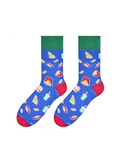More Pánské ponožky More Fastfood 079 sv.zelená 39-42