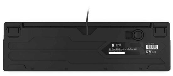 SilentiumPC gamerska tipkovnica Gear GK540 Magna, Kailh Blue, US (SPG019)