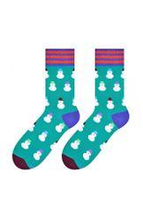 More Pánské ponožky 079 Sváteční - MORE tm.zelená-tyrkys 43-46