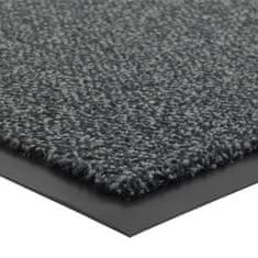 FLOMA Antracitová vnitřní čistící vstupní rohož Portal (Cfl-S1) - délka 60 cm, šířka 90 cm a výška 0,75 cm