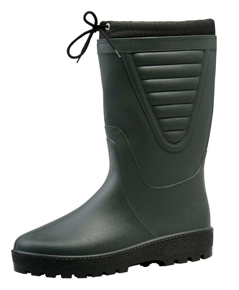 Boots Vysoké zateplené holínky Polar zelená 47