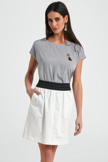 Ennywear Dámská sukně 250088 - Ennywear bílo-černá 36