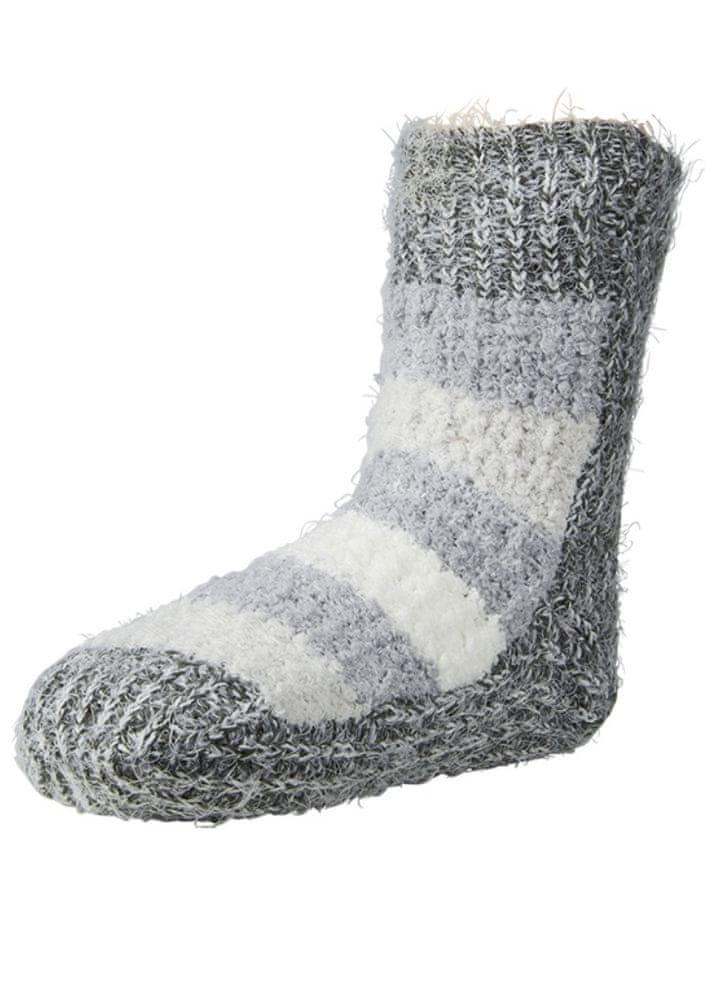 Ysabel Mora Dámské ponožky Ysabel Mora 12631 UNI ocelovka