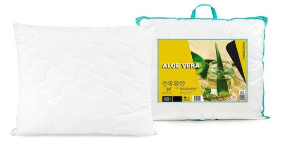 My Best Home vzglavnik z belim robom Aloe Vera, 70x90 cm