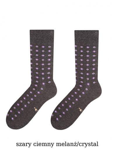 More Pánské ponožky More Elegant 051 šedá tmavá melanž 39-42