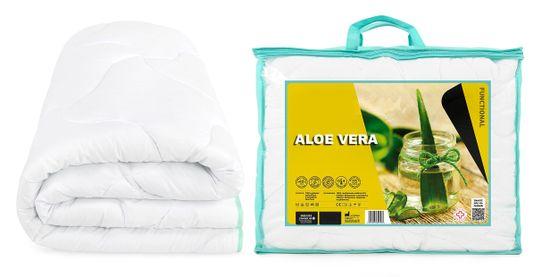 My Best Home prošiveni prekrivač Aloe Vera 140x200 cm, mikrovlakna s dekorativnim presvlakama