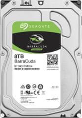 "Seagate BarraCuda, 3,5"" - 8TB ST8000DM004"
