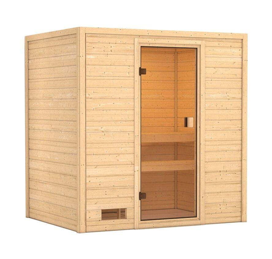 KARIBU finská sauna KARIBU SELENA (6164)