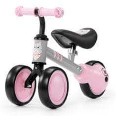 KinderKraft Kinderkfraft pedál nélküli kerékpár, CUTIE, rózsaszín