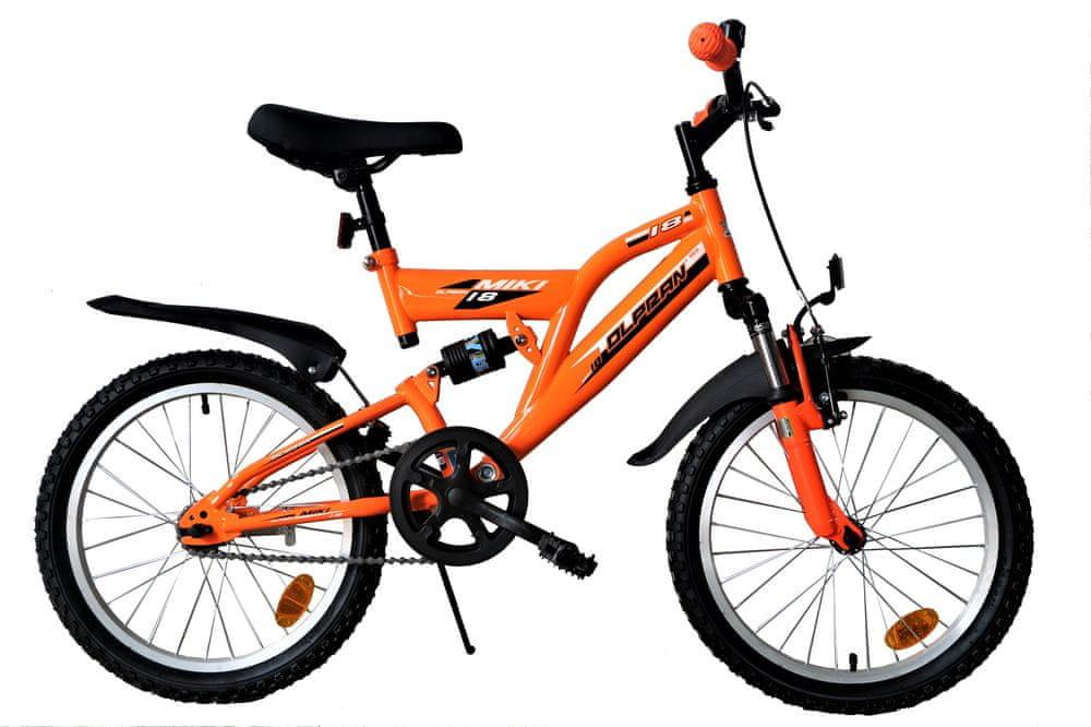 """Olpran Miki 18"""" oranžová"""