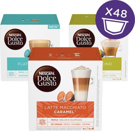 NESCAFÉ Dolce Gusto® kávové kapsule white mix 1