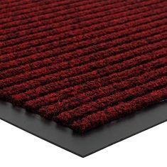 FLOMA Červená vnitřní čistící vstupní rohož Everton - délka 40 cm, šířka 60 cm a výška 0,6 cm