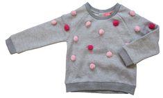 Carodel Sweter dziewczęcy 116 szary