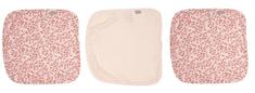 Bebe-jou myjka muślinowa do twarzy 3 szt. Leopard Pink