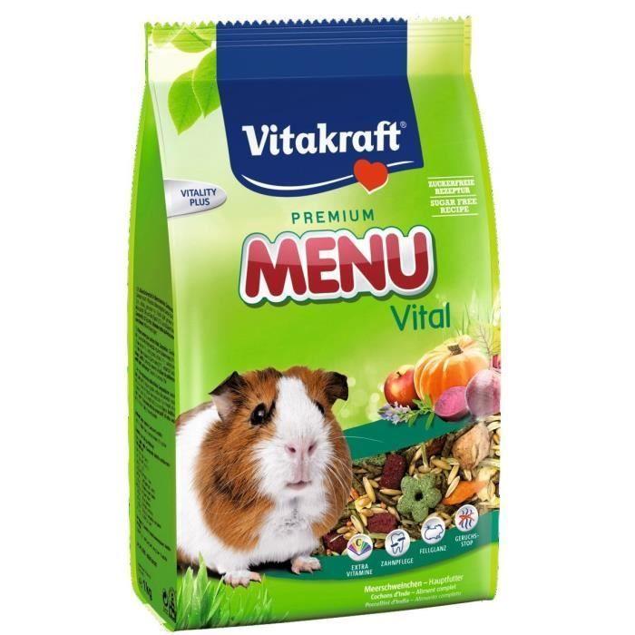 Vitakraft komplexní krmivo Vital Menu pro morčata, 4 kg