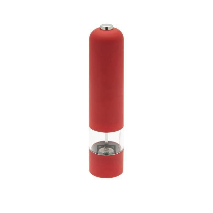 Frandis elektrický mlýnek - červený