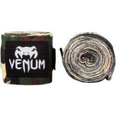 VENUM Boxerské bandáže značky VENUM KONTACT - 2,5 m FOREST CAMO