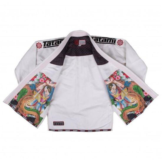 Tatami Dětské Kimono JAPAN SERIES SAMURAI GI - bílé