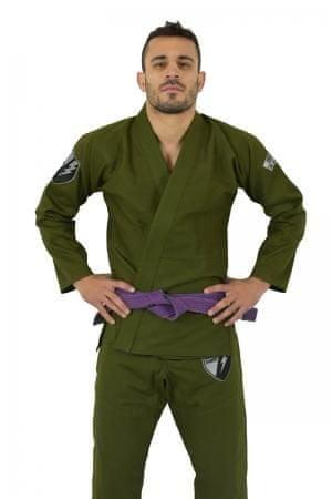 OKAMI fightgear Kimono BJJ Gi SAS - zelené
