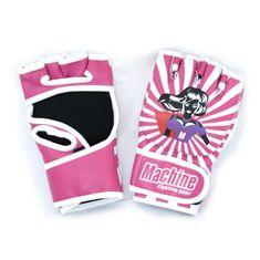 MACHINE Dámské MMA Rukavice Machine Super Woman - růžové