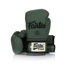 """Fairtex Boxerské rukavice """"F-DAY"""" BGV11 - zelené"""