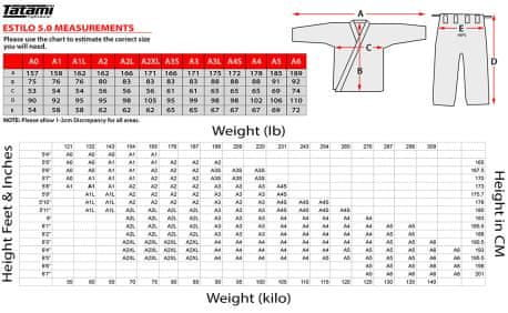 Kimono Estilo 6.0 BJJ Gi - White & ORANGE