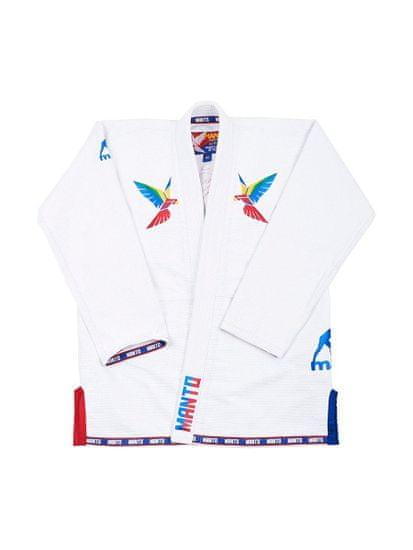 "MANTO Kimono ""PURA VIDA 2.0"" BJJ GI - bílé"