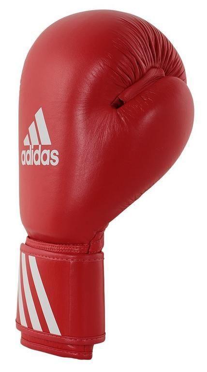 Adidas Boxerské rukavice Adidas WAKO červené - kůže