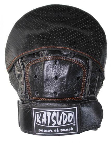 Katsudo Box lapy Katsudo TARGET černé - Kůže