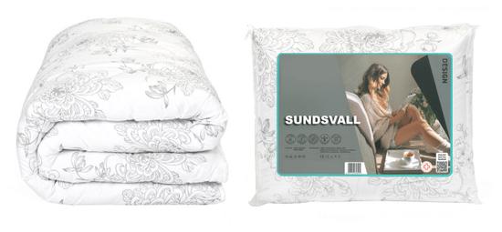 My Best Home prešita celoletna odeja Sundsvall, 140x200 cm, cvetni potisk iz mikrovlaken