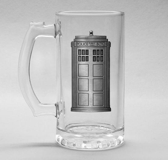 Szklanka Doctor Who - Tardis