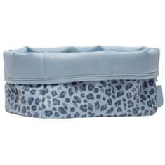 Bebe-jou Leopard Blue tekstilna košara za otroške pripomočke
