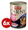 Animonda konzerva CARNY Adult - hovězí, krůta + garnáti 6 x 400g