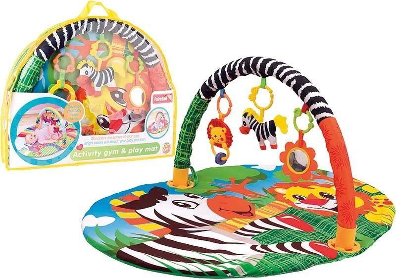 iBaby Hrací deka s hrazdičkou Zebra