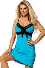 DKaren Dámská košilka Cassidy turquoise, tyrkysová, XL