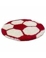Ayyildiz Detský kusový koberec Fun 6001 red 100x100 (průměr) kruh