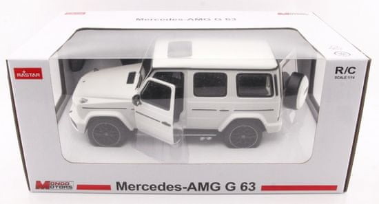 Mondo Motors Mercedes G63 AMG 1:14 opendoor biały