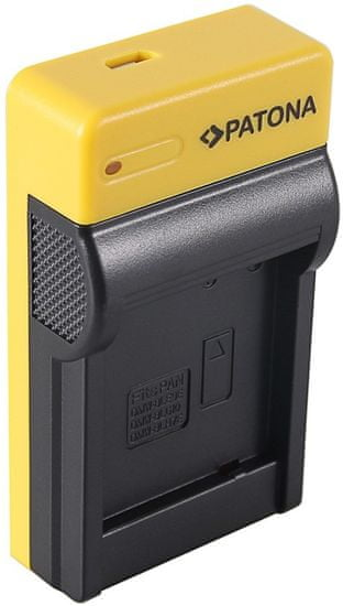 PATONA Nabíjačka Foto Panasonic DMW-BLG10 slim, USB (PT151655)