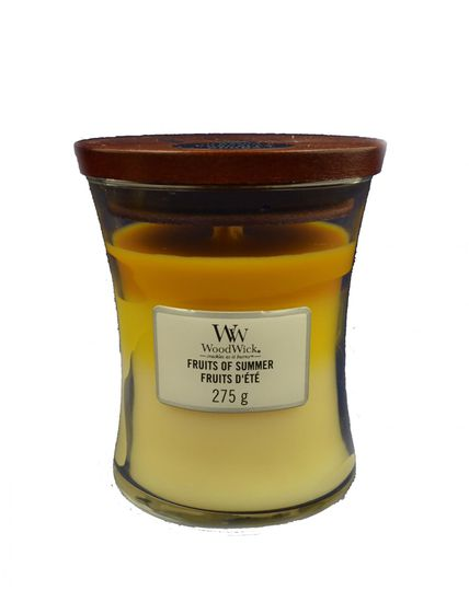 Woodwick Fruits of Summer Trilogy Medium Candle 275,0 gr