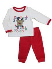 Carodel dětské pyžamo 56 bílá/červená