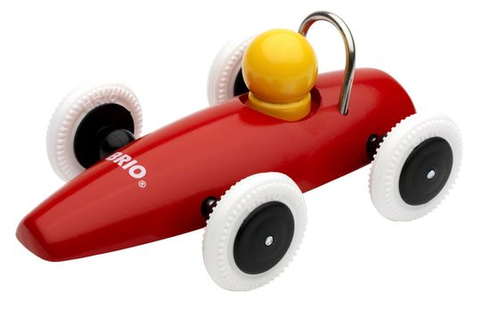 Brio Závodní autíčko, červená