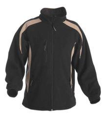 Cerva Pánská fleecová bunda Tenrec černá L