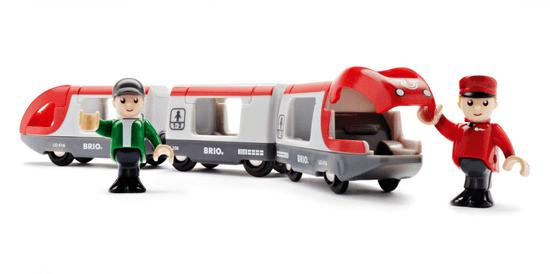 Brio potniški vlak z vagoni