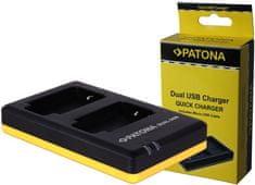 PATONA Nabíječka Foto Dual Quick Panasonic DMW-BLC12 USB (PT1949)