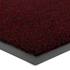 FLOMA Červená vnitřní vstupní čistící rohož Mars - 60 x 90 cm