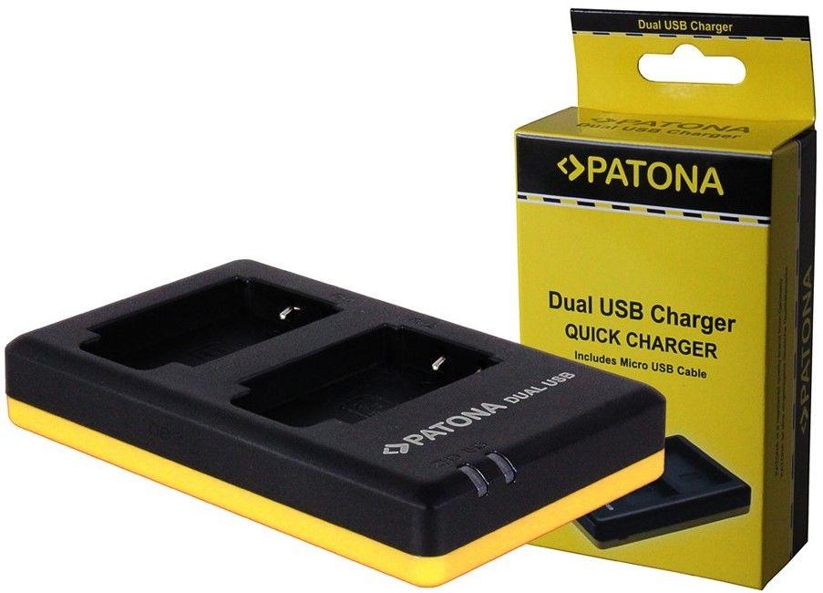 PATONA Nabíječka Foto Dual Quick Olympus Li-50B USB (PT1972)