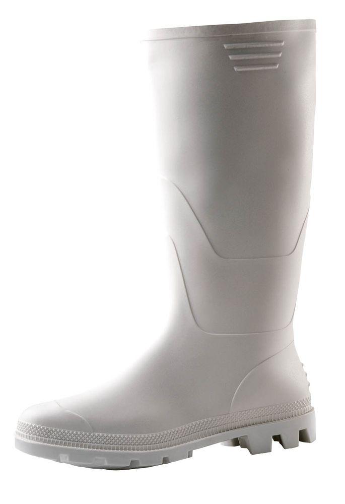 Boots Vysoké holínky Ginocchio bílá 43