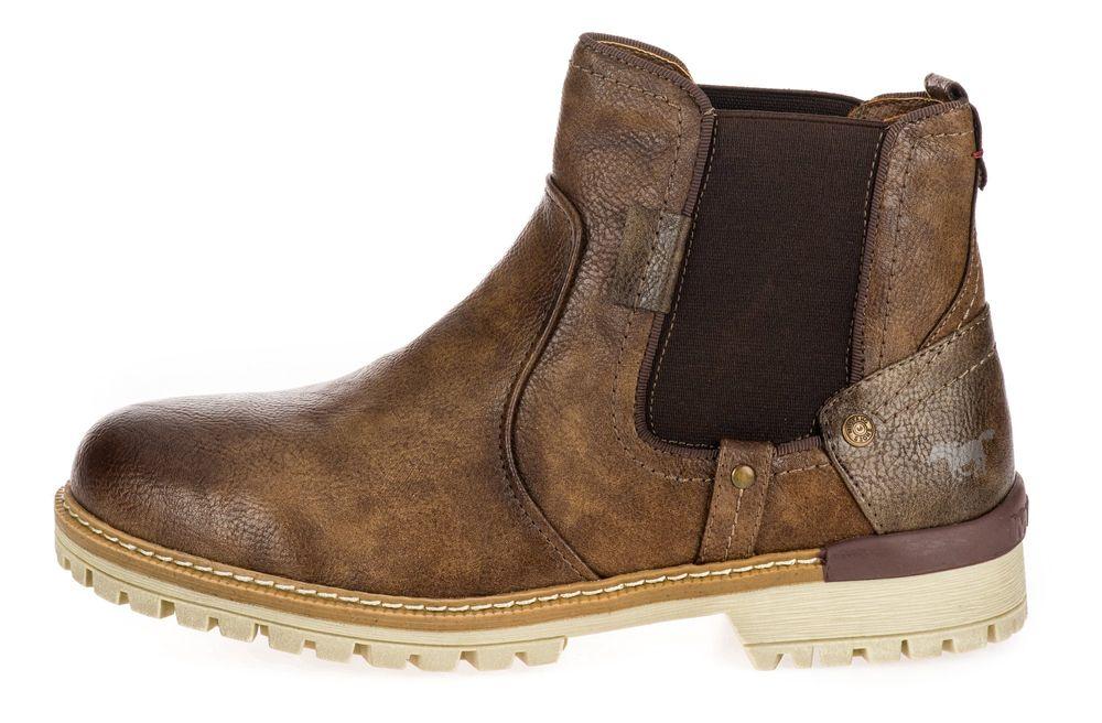 Mustang pánská kotníčková obuv 4142501 45 hnědá