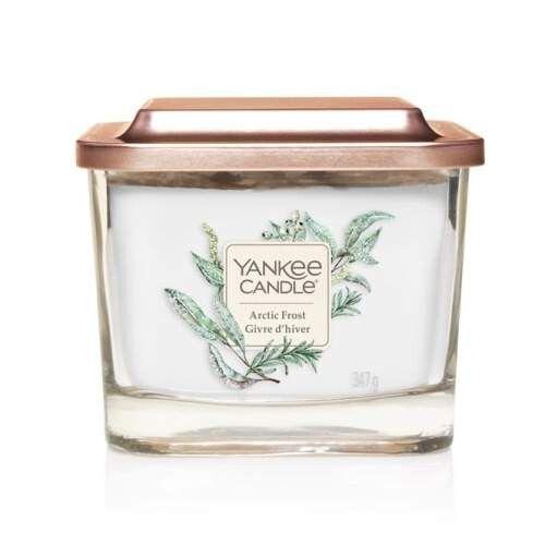 Yankee Candle Aromatická svíčka střední hranatá Arctic Frost 347 g
